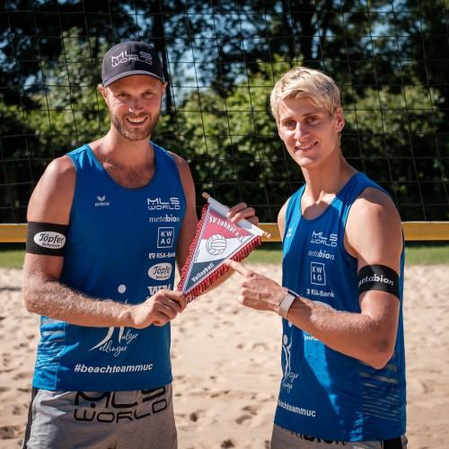 Beach Volleyball Team Dollinger & Kulzer